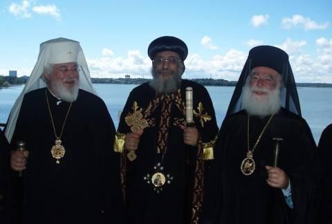 Ο Πατριάρχης Αλεξανδρείας στην Φιλανδία