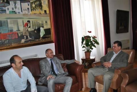 Συνάντηση Ορφανού με αντιπρόεδρο του ΣΒΒΕ