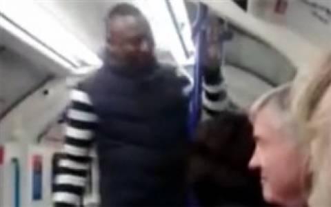 Επιδημία... Σουάρες - Γυναίκα δαγκώνει άνδρα στο μετρό! (vid)