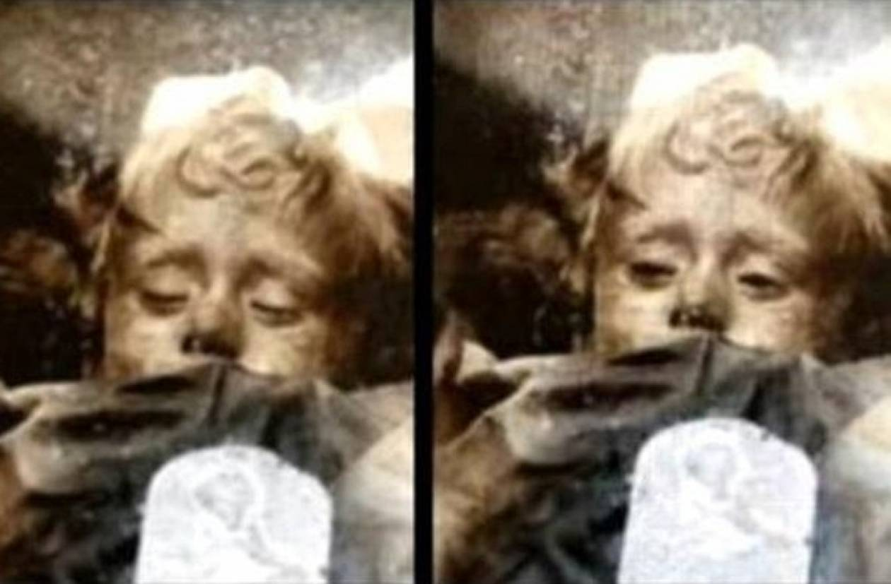 Αυτή είναι η λύση του μυστηρίου της μούμιας που ανοιγοκλείνει τα μάτια της