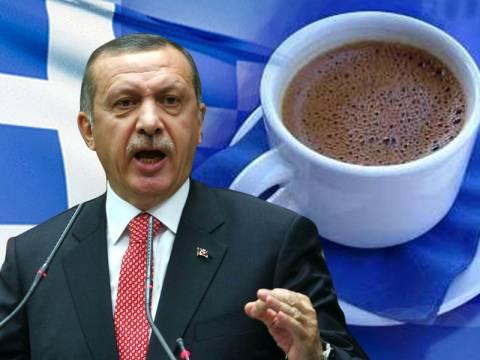 Ερντογάν: «Αφήστε ήσυχο τον τούρκικο καφέ, είναι δικός μας»
