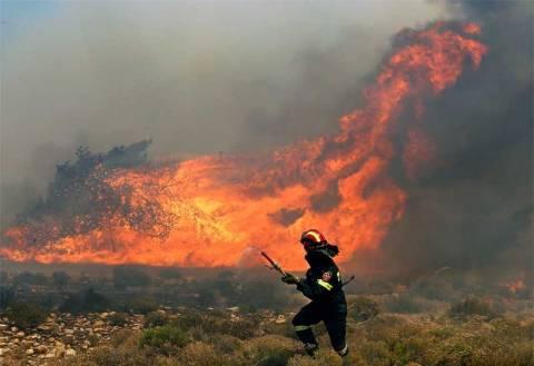 Αυτές είναι οι περιοχές που κινδυνεύουν από πυρκαγιές σήμερα – Δείτε τον χάρτη