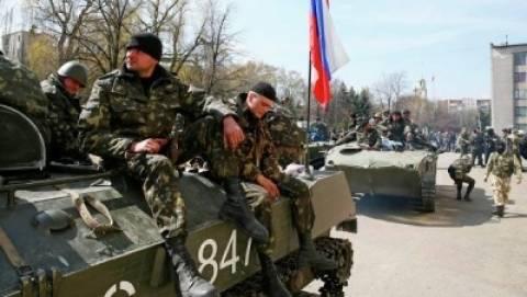 Τρία μέλη του ουκρανικού στρατού σκοτώθηκαν στο Σλαβιάνσκ