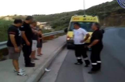 Θρήνος στη Μυτιλήνη: 17χρονος νεκρός στην άσφαλτο (pic-vid)
