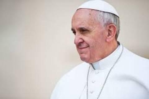 «Προσευχηθείτε υπέρ της αποστολής μου» ζητά ο πάπας Φραγκίσκος