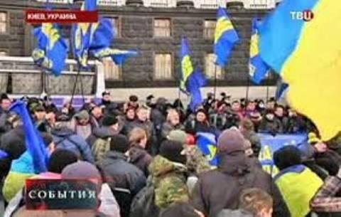 Διαδήλωση στο Κίεβο: Φιλο-ουκρανοί μαχητές απαιτούν άρση εκεχειρίας