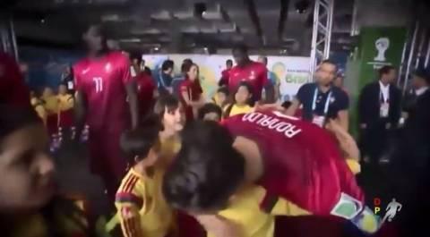 Μουντιάλ 2014: Όταν ο Ρονάλντο γίνεται παιδί! (βίντεο)