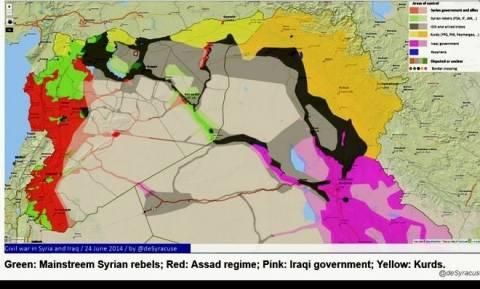 Ιράκ: Απειλούν να διαρρήξουν και άλλα σύνορα οι τζιχαντιστές