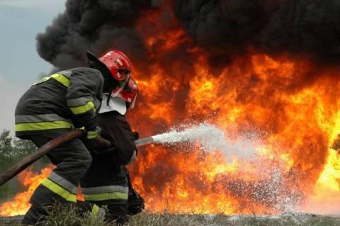 Πυρκαγιά στην Επίδαυρο