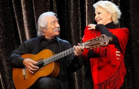 Η Μαρινέλλα και ο Κώστας Χατζής απόψε στο Θέατρο Βράχων