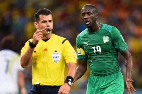 Παγκόσμιο Κύπελλο Ποδοσφαίρου - Φάση των 16: Τουρέ: «Σκάνδαλο το πέναλτι με Ελλάδα»