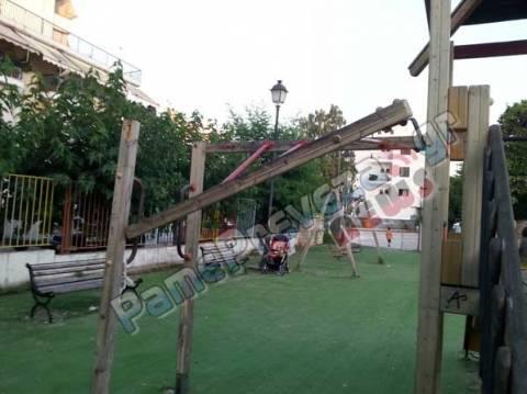 Καμία ουσιαστική ανάπλαση για τις παιδικές χαρές στην Πρέβεζα!!
