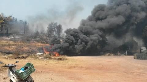 Εύβοια: Έσβησε η φωτιά στα Πολιτικά