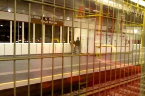 Βιέννη: «Ξαναμμένο» ζευγάρι έκανε σεξ σε σταθμό του μετρό! (video)