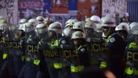 Μουντιάλ 2014: Δακρυγόνα ξανά κατά διαδηλωτών στη Βραζιλία