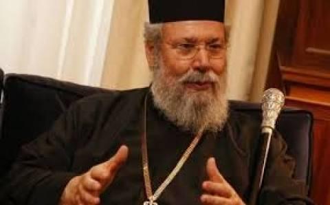 Αρχιεπίσκοπος Χρυσόστομος για Τρ. Κύπρου: «Το φαγοπότι δεν έχει σταματήσει»