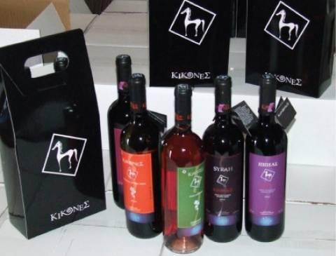 Κίκονες: Κρασιά που... ταξιδεύουν από την ακριτική Θράκη στις αγορές του εξωτερικού