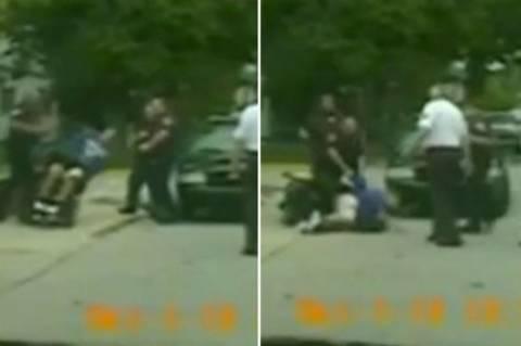 ΗΠΑ: Βίαιη επίθεση αστυνομικού σε παραπληγικό επειδή τον πάτησε! (video)