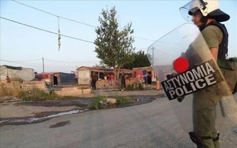 Ρόδος: Αστυνομική επιχείρηση σε καταυλισμό Ρομά
