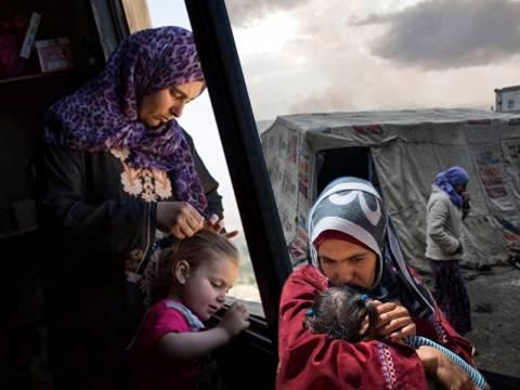 Γυναίκες πρόσφυγες από τη Συρία: Το «κρυμμένο πρόσωπο» του πολέμου