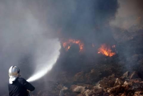 Συνελήφθη 35χρονος για τη μεγάλη φωτιά στο Άγιο Όρος