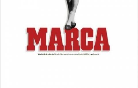 ΕΚΠΛΗΚΤΙΚΟ πρωτοσέλιδο της «Marca»  για τον Ντι Στέφανο