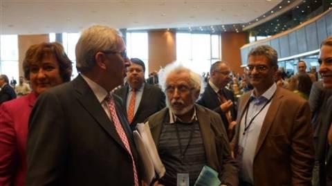 Οι Ευρωβουλευτές του Ποταμιού έθεσαν το θέμα ανεργίας στο Γιούνκερ