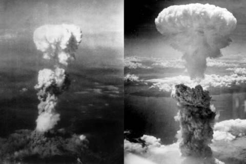 Κίνα: Tύπωσαν ιαπωνικό χάρτη με τα «μανιτάρια» των πυρηνικών εκρήξεων!