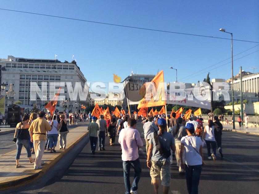 Συλλαλητήριο της ΓΕΝΟΠ στο Σύνταγμα (pics&vid)