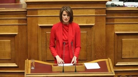 Ανεξαρτητοποιήθηκε η βουλευτής της ΔΗΜΑΡ, Κατερίνα Μάρκου