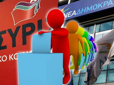 Δημοσκόπηση: Σημαντικό προβάδισμα του ΣΥΡΙΖΑ έναντι της ΝΔ