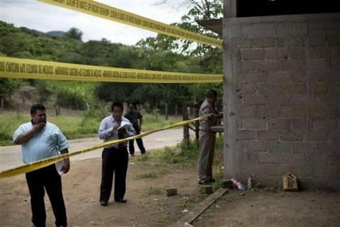 Μεξικό: 7 νεκροί σε ανταλλαγή πυρών μεταξύ αστυνομίας και συμμοριών