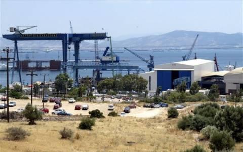 Παρολίγο τραγωδία στα ναυπηγεία της Ελευσίνας