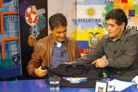 Μουντιάλ 2014: Εγκώμια Μαραντόνα για τους Βραζιλιάνους (video)