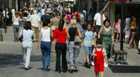 Μείωση του πληθυσμού στην Κύπρο