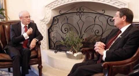 Αναστασιάδης: Τα είπε τηλεφωνικώς με Ρομπάι
