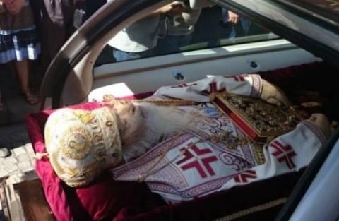 Στον Ναό της Ευαγγελιστρίας Γρεβενών το σκήνωμα του Μητροπολίτη Σεργίου