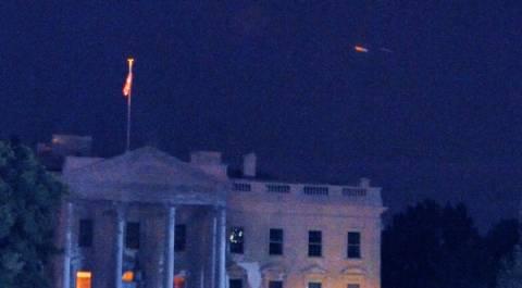 UFO στον Λευκό Οίκο!