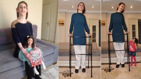 Αυτή είναι η ψηλότερη έφηβη στον κόσμο! (pics)