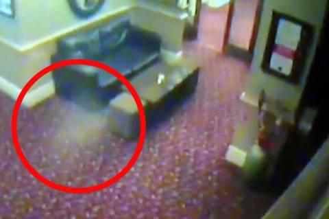 Φάντασμα εμφανίστηκε σε παμπ! (βίντεο)