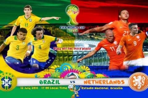 Βραζιλία - Ολλανδία: Ο μικρός τελικός της παρηγοριάς στο Μουντιάλ 2014