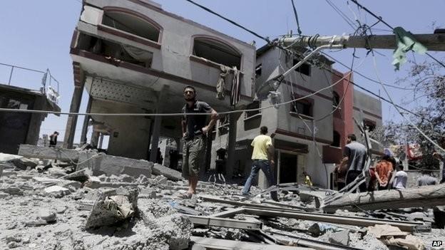 Συνεχίζονται οι ανελέητοι βομβαρδισμοί στη Γάζα (pics+video)