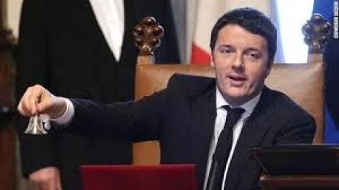 Ρέντσι: «Η Ιταλία δεν πρόκειται να τεθεί υπό επιτήρηση»