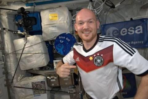Παγκόσμιο Κύπελλο Ποδοσφαίρου 2014 – Τελικός: Πανηγύρισαν και στο διάστημα!