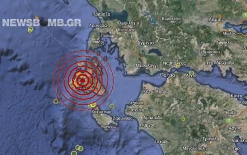 Κεφαλονιά: Σεισμός 3,3 Ρίχτερ στο Αργοστόλι