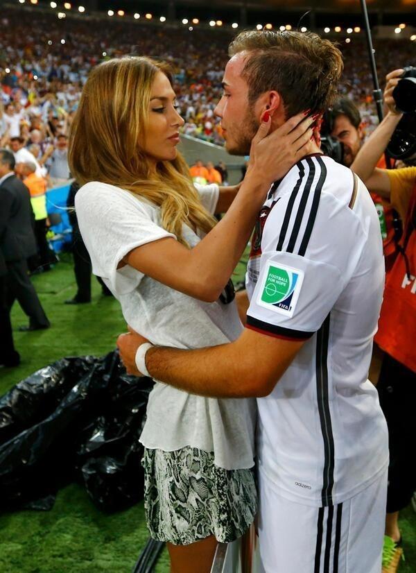 Μουντιάλ 2014: Σκοράρει και εκτός γηπέδου ο Γκέτσε – Δείτε που αφιέρωσε το γκολ