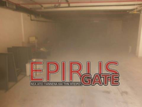 Ηγουμενίτσα: Φωτιά στο υποκατάστημα του ΙΚΑ (pics)