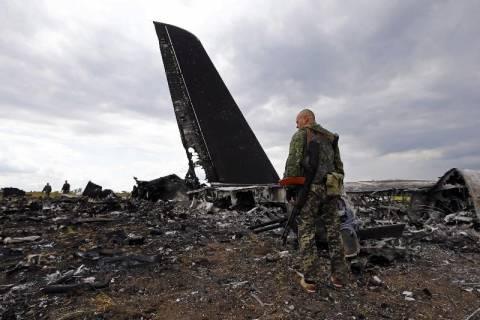 Ουκρανία: Κατερρίφθη ουκρανικό μεταγωγικό αεροπλάνο