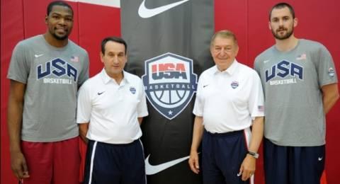 Μουντομπάσκετ 2014-ΗΠΑ: Μέσα ο Ντουράντ, εκτός ο ΛεΜπρόν