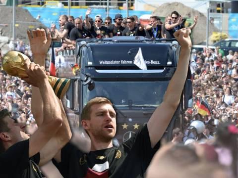 Μουντιάλ 2014: Γύρισαν σπίτι τους οι Παγκόσμιοι πρωταθλητές